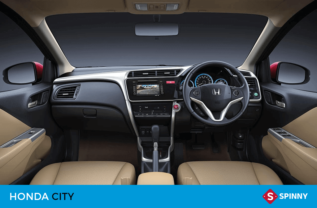 Honda City : CVT Automatic Transmission Car