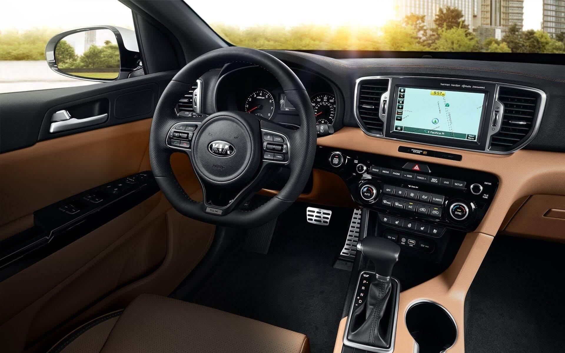 Kia Sportage Interiors : 3 Best Compact SUVs in the World
