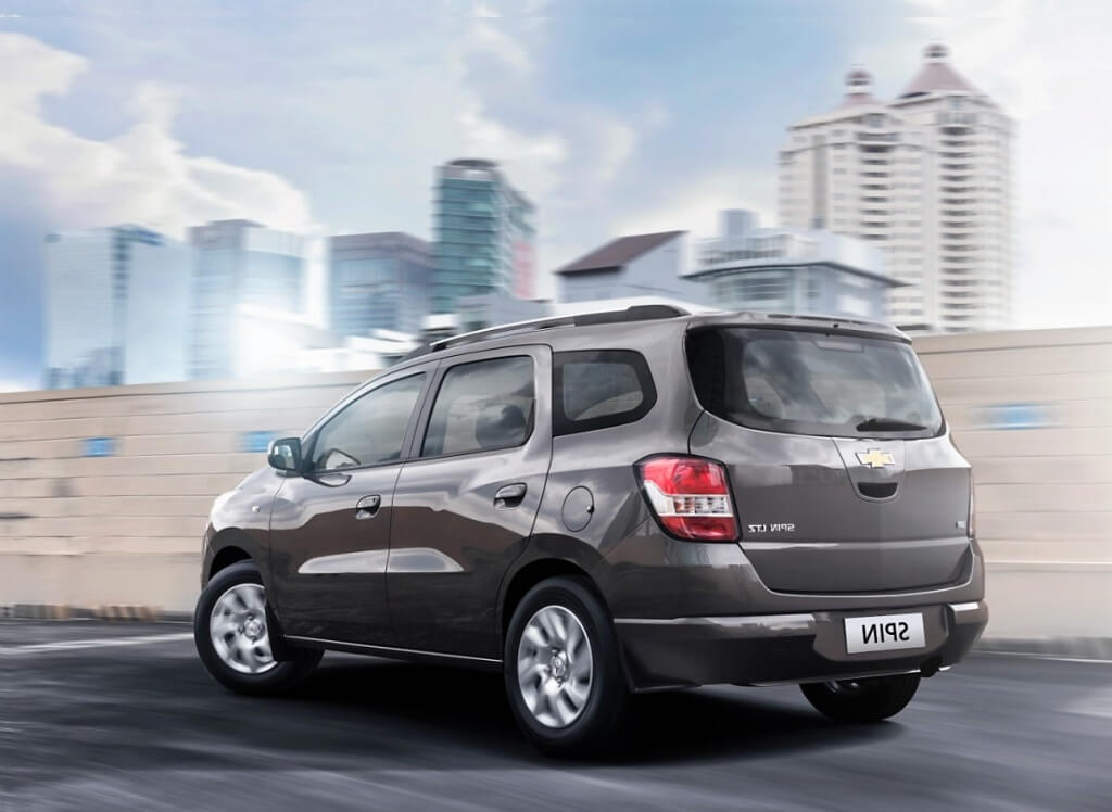 Chevrolet's Upcoming seven seater muv - Spin