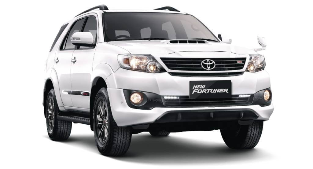 Toyota Fortuner 2017 : 3 Best Compact SUVs in the World